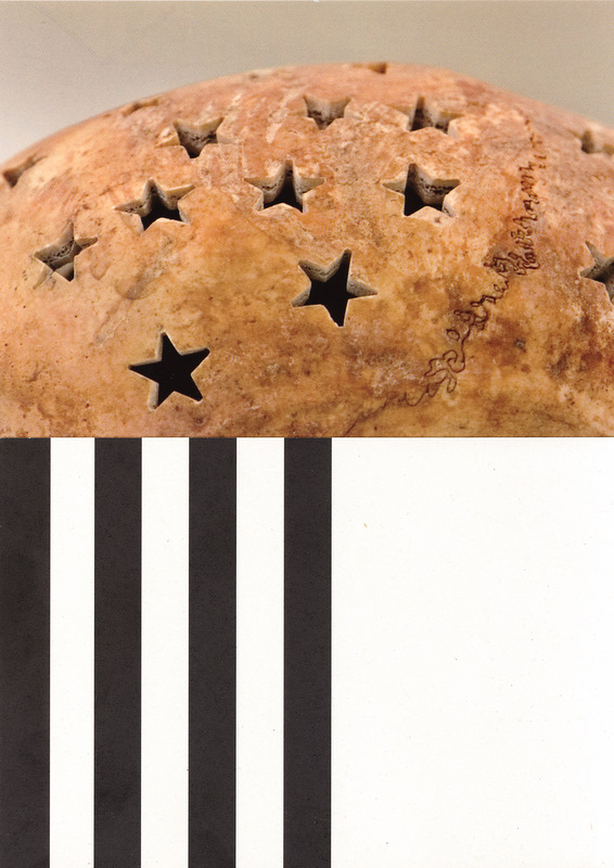 Stars & stripes, 2008, collage
