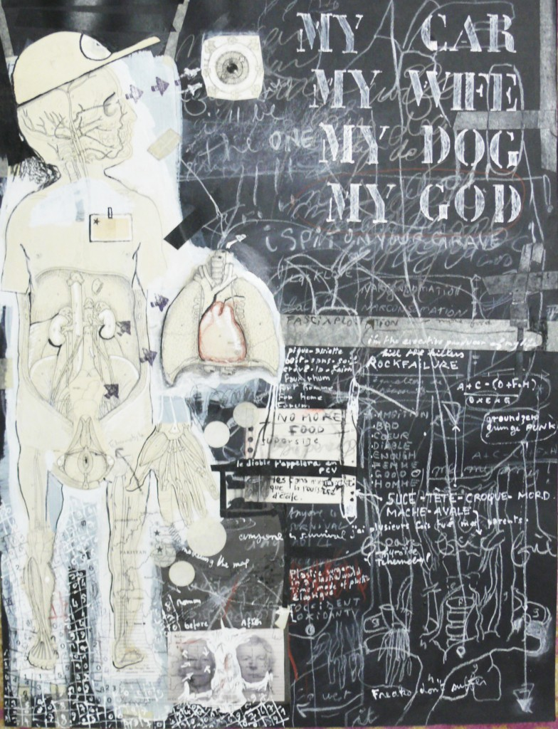 the employee of the month, 2005, 46X61 cm
