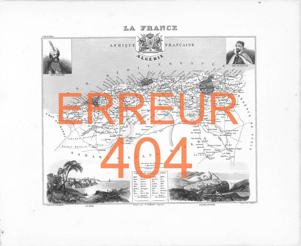 Erreur 404, lithographie, 50x60cm, 2016